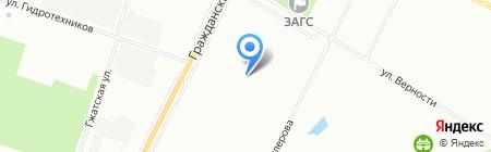 Детский сад №37 на карте Санкт-Петербурга
