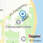 Комитет по вопросам законности на карте Санкт-Петербурга