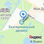 Царскосельская янтарная мастерская на карте Санкт-Петербурга