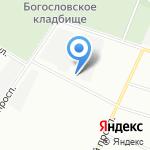 Гарант на карте Санкт-Петербурга