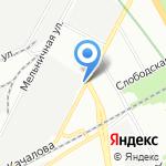 Альфа Авто на карте Санкт-Петербурга