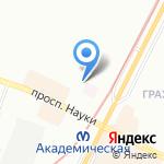 Колли-Клуб на карте Санкт-Петербурга