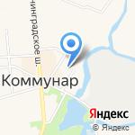 Дом на Клубном на карте Санкт-Петербурга
