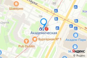 Снять однокомнатную квартиру в Санкт-Петербурге м. Академическая, метро Академическая
