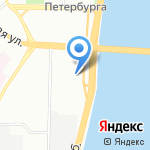 Нотариус Журавлева М.А. на карте Санкт-Петербурга