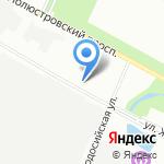 Оперативно-розыскная часть собственной безопасности на карте Санкт-Петербурга