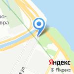 Алев на карте Санкт-Петербурга