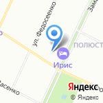 Славянин на карте Санкт-Петербурга