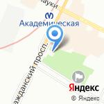 Идея на карте Санкт-Петербурга