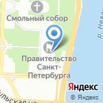 Комитет по внешним связям г. Санкт-Петербурга на карте Санкт-Петербурга
