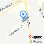 ПОСТ на карте Санкт-Петербурга