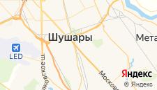 Отели города Шушары на карте