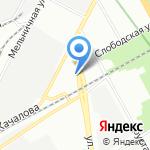 Ваша Топливная Компания на карте Санкт-Петербурга