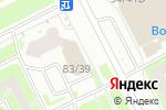 Схема проезда до компании НагаСаки в Санкт-Петербурге