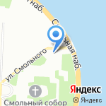 Комитет по топливно-энергетическому комплексу Ленинградской области на карте Санкт-Петербурга