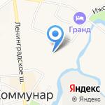 Коммунарские электрические сети на карте Санкт-Петербурга