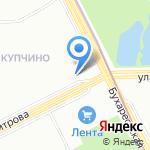 Следственный отдел по Фрунзенскому району на карте Санкт-Петербурга