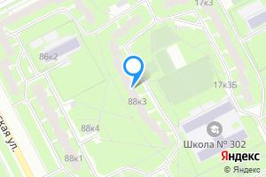 Однокомнатная квартира в Санкт-Петербурге м. Купчино, Будапештская улица, 88к3