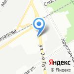 Стокгир на карте Санкт-Петербурга