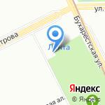 Полк охраны и конвоирования подозреваемых и обвиняемых на карте Санкт-Петербурга