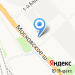 DAF Terra Truck на карте Санкт-Петербурга