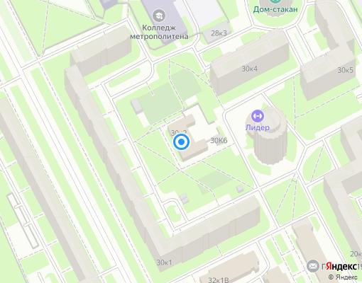 Управляющая компания «ЖКС №3 Фрунзенского района» на карте Санкт-Петербурга