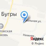 Бугровская средняя образовательная школа на карте Санкт-Петербурга