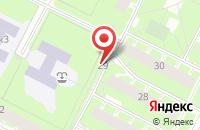 Схема проезда до компании Тф Мир в Санкт-Петербурге