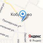 Кобраловская основная общеобразовательная школа на карте Санкт-Петербурга