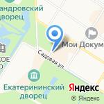 Художник на карте Санкт-Петербурга
