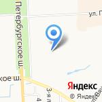 Детский сад №31 комбинированного вида на карте Санкт-Петербурга