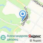 Ладушки на карте Санкт-Петербурга