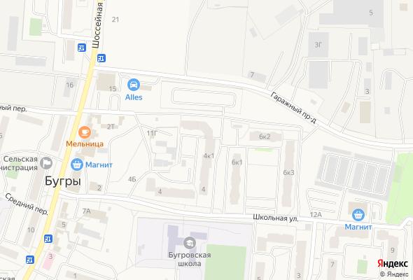 ЖК Бугры, Школьная ул. 4 к.1