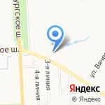 Охотничья усадьба на карте Санкт-Петербурга
