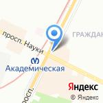 Роспечать на карте Санкт-Петербурга