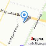 Детский сад №19 на карте Санкт-Петербурга
