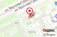 Схема проезда до компании Бинар-Дизайн в Санкт-Петербурге