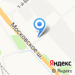 ГидроБалт на карте Санкт-Петербурга
