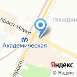 Мастерская по ремонту обуви на карте Санкт-Петербурга