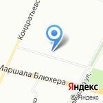 СК Визор на карте Санкт-Петербурга