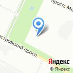 Центр большого тенниса СПБ на карте Санкт-Петербурга