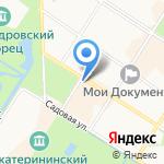 Царские блины на карте Санкт-Петербурга