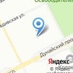 Средняя общеобразовательная школа №302 на карте Санкт-Петербурга