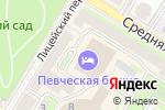 Схема проезда до компании Сочи в Санкт-Петербурге