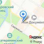 Vodka на карте Санкт-Петербурга