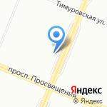 СаХарА на карте Санкт-Петербурга