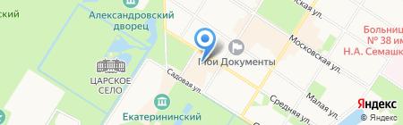 Сочи на карте Санкт-Петербурга