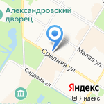 Жилищное агентство Пушкинского района Санкт-Петербурга на карте Санкт-Петербурга