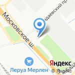 СИЛОВАТ на карте Санкт-Петербурга