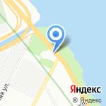 Деталика на карте Санкт-Петербурга